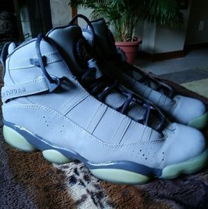 NIKE AIR JORDAN 6 RINGS 3M LIMITED METALLIC SILVER